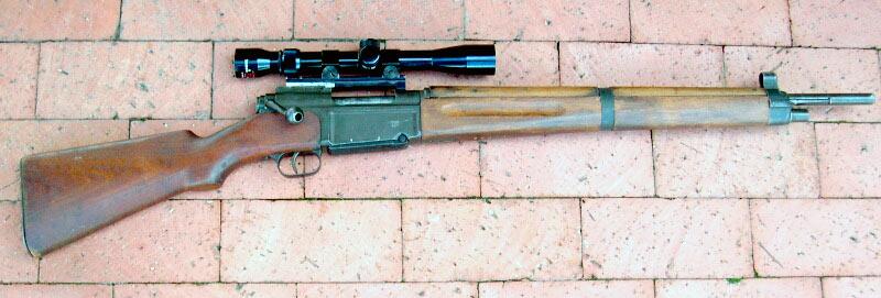 Французская винтовка MAS-36 с оптическим прицелом