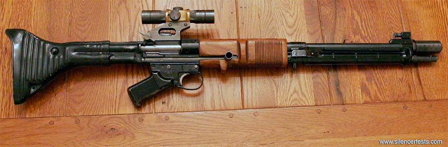 Автоматическая винтовка FG-42 ранних моделей