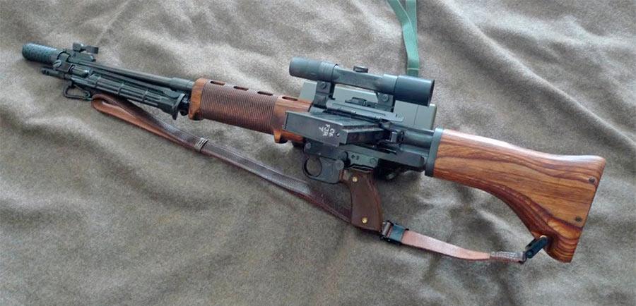 Автоматическая винтовка FG-42 поздних моделей