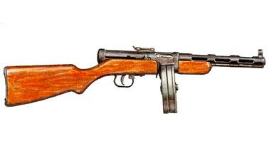 Пистолет-пулемет Дегтярева (ППД-34/38, ППД-40)