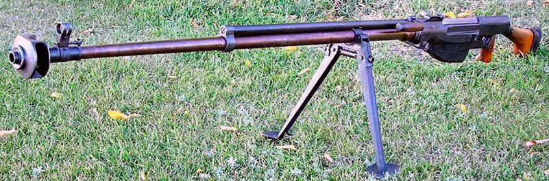 ПТРС - противотанковое ружье Симонова
