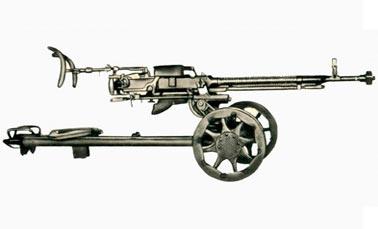 Пулемет Дегтярева-Шпагина образца 1938 г. (ДШК)
