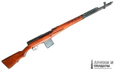 Самозарядная винтовка Токарева СВТ-38 (СВТ-40)