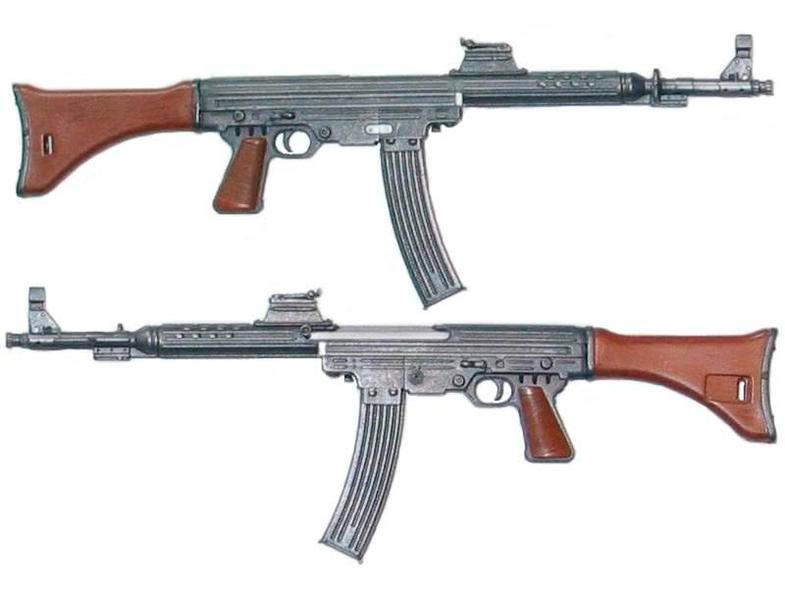 Штурмовая винтовка MKb.42(W) , конструкции Эриха Вальтера