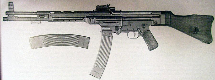 Штурмовая винтовка MKb.42(H) , конструкции Хуго Шмайсера
