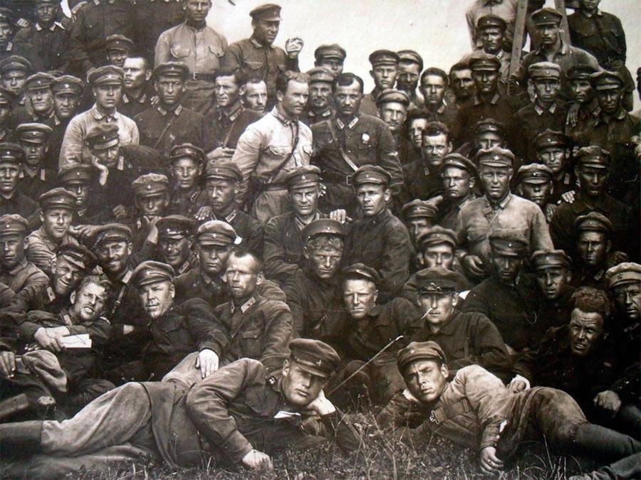 Бойцы РККА на Китайско-Восточной Железной Дороге
