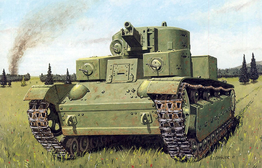 Советский средний <a href='https://arsenal-info.ru/b/book/1162493428/5' target='_self'>танк Т-28</a>