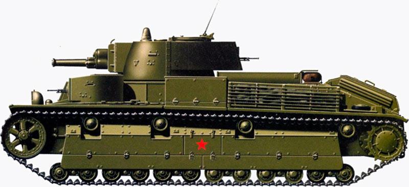 При своих «серьезных» габаритах, Т-28 был на удивление быстрой и проходимой боевой машиной