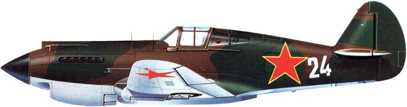 P-40 «Томахаук» - американский истребитель в советской окраске