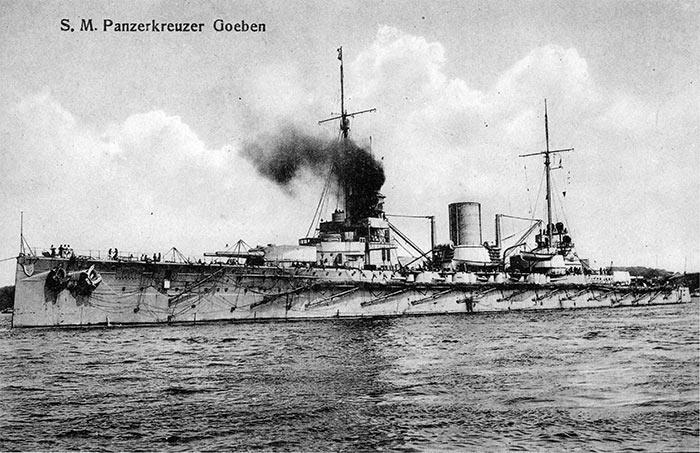 Турецкий (германский) крейсер 'Гебен'
