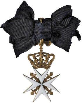Орден Святого Иоанна Иерусалимского - Мальтийский крест