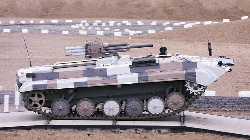 Миномет 2Б9М «Василек» установленный на БМП-1