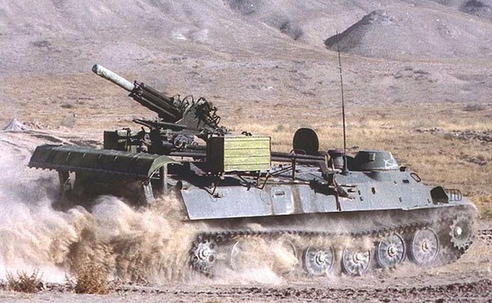 Миномет 2Б9М «Василек» на базе транспортера МТ-ЛБ