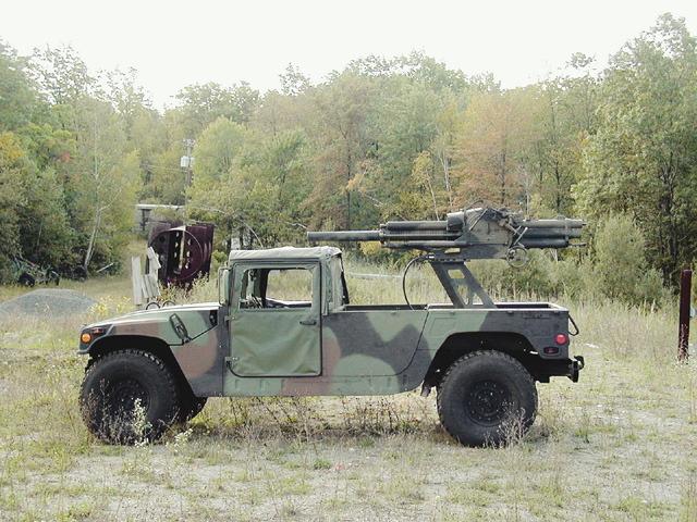Миномет 2Б9М «Василек» на базе автомобиля 'Hummer'