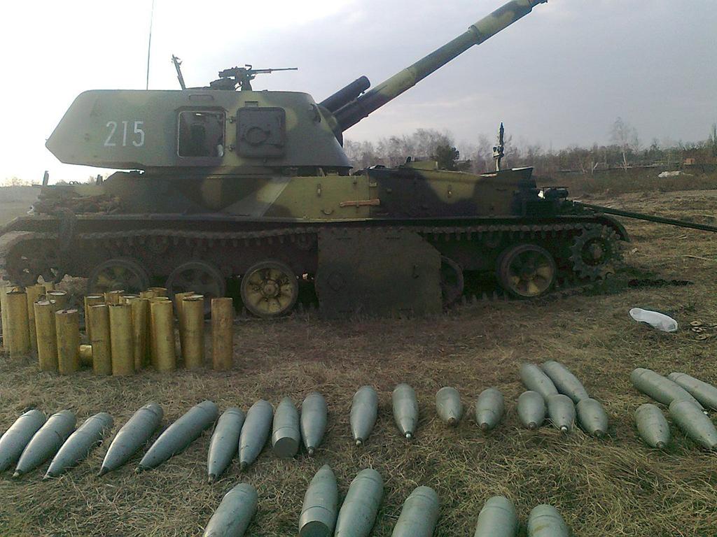 САУ 2С3 «Акация» - самоходная гаубица калибр 152-мм