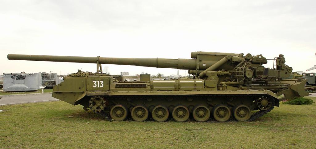 САУ 2С7 Пион (2С7М Малка) - 203-мм самоходная пушка