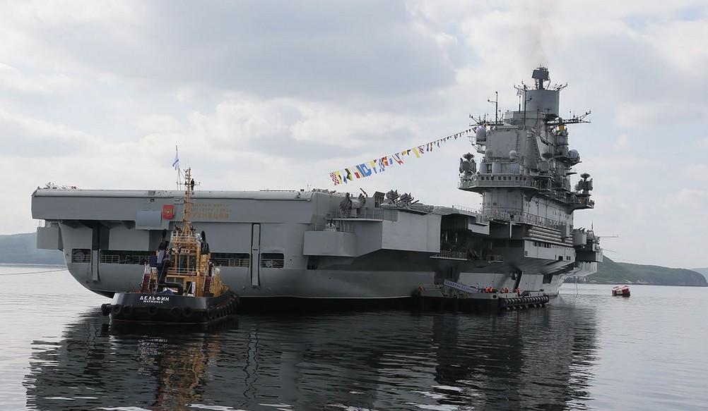 «Адмирал Кузнецов» - тяжёлый авианесущий крейсер (ТАКР) проекта 1143.5