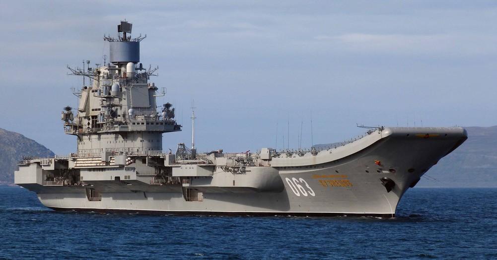 «Адмирал флота Советского Союза Кузнецов» — тяжёлый авианесущий крейсер проекта 1143.5