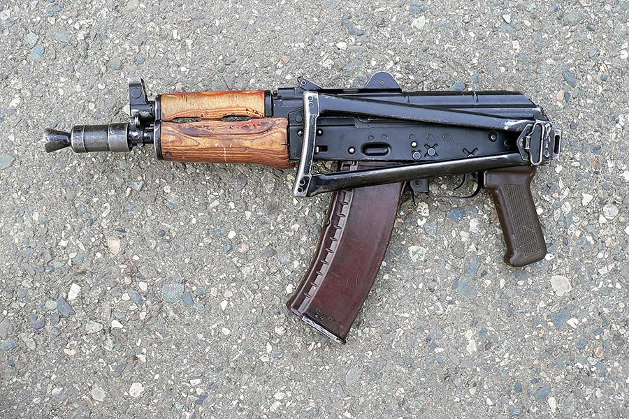 АКС-74У - автомат Калашникова складной укороченный