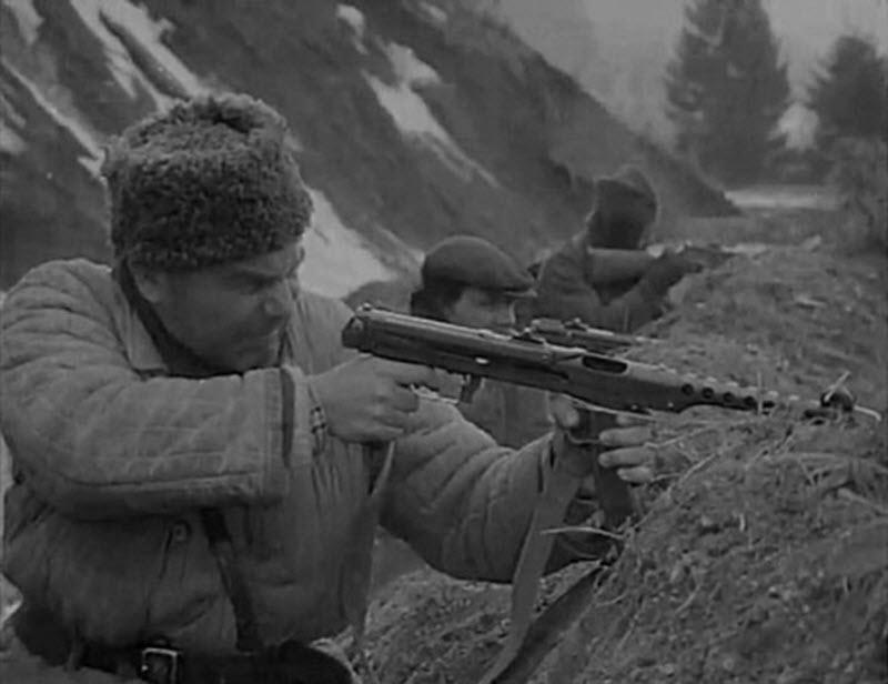 ППС-42 и ППС-43 пистолет-пулемет Судаева калибр 7,62-мм