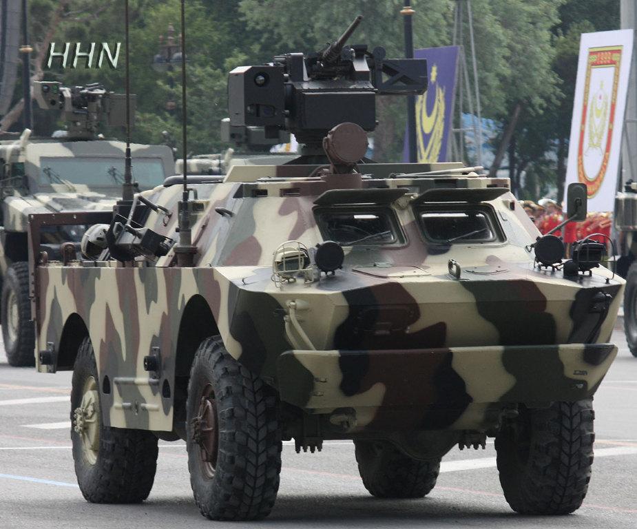 Азербайджанский БРДМ-2 с дистанционно управляемой турелью Rafael Samson