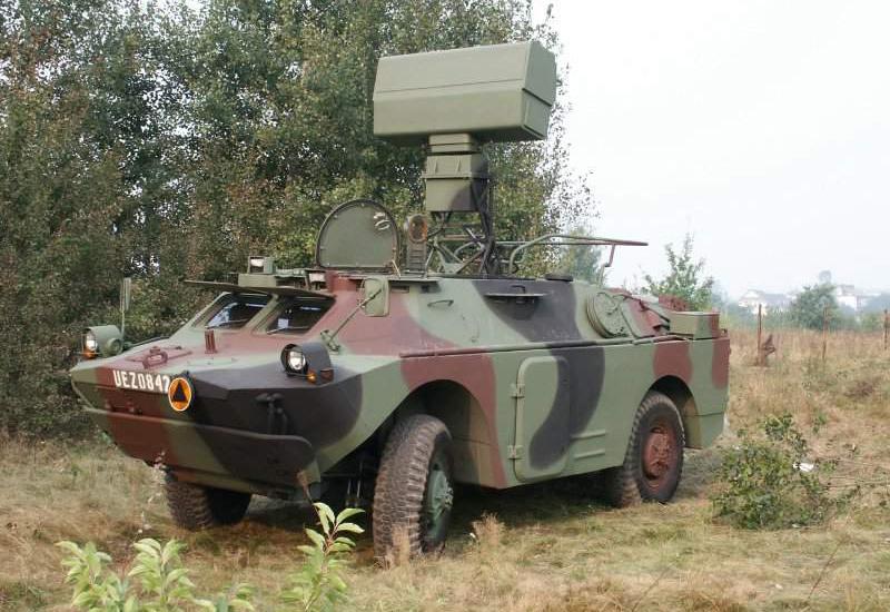 Польский вариант ЗРК ближнего действия 'ASRAD' на шасси БРДМ-2 и ПЗРК 'Гром'