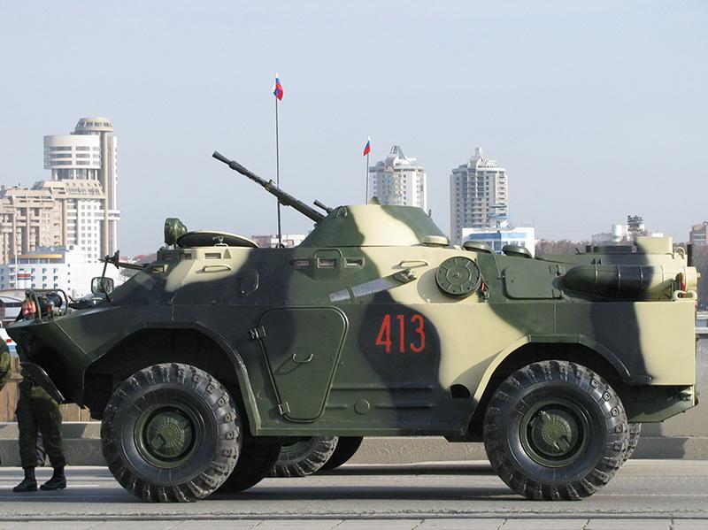 БРДМ-2 - бронированная разведывательно-дозорная машина