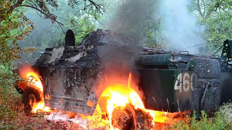 Уничтоженные БРДМ-2