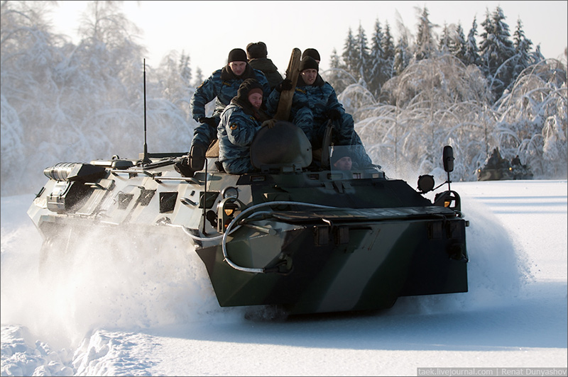 БТР-80 - бронетранспортер