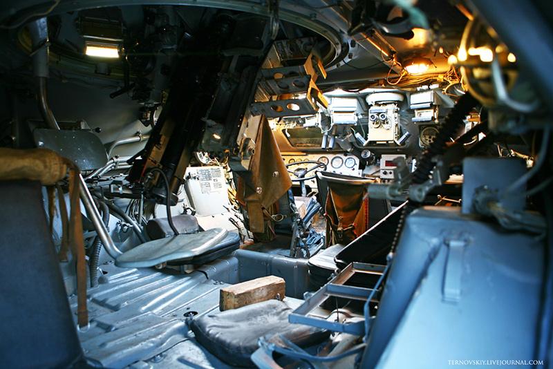 Внутри БТР-80