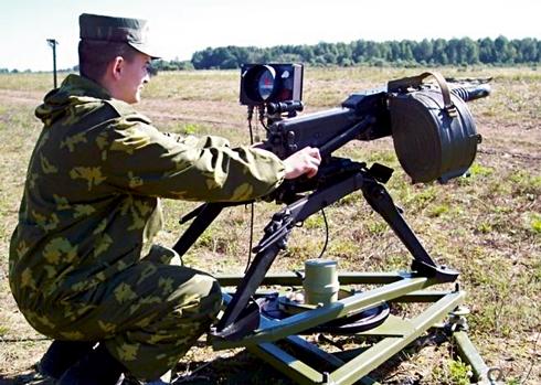 Акустическая система «СОВА» на гранатомете АГС-17