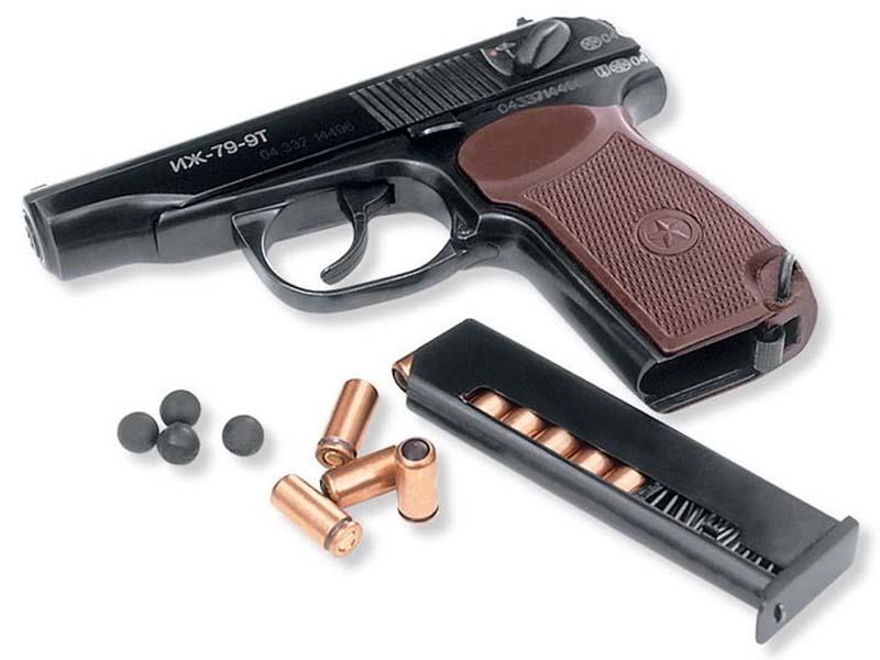 Травматический пистолет Иж-79-9Т