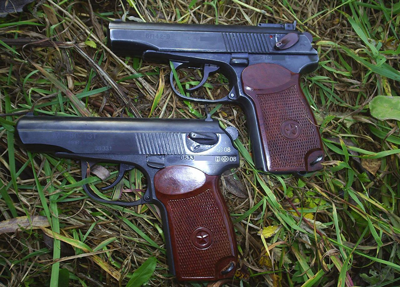 Пистолеты МР-80-13Т и 6п42-9