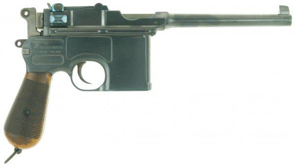 Пистолет Маузер К96 «Small Ring Hammer»