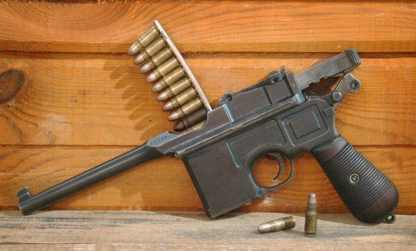 Пистолет Маузер К96 с предохранителем «Neue Sicherung» (Модель 1912)
