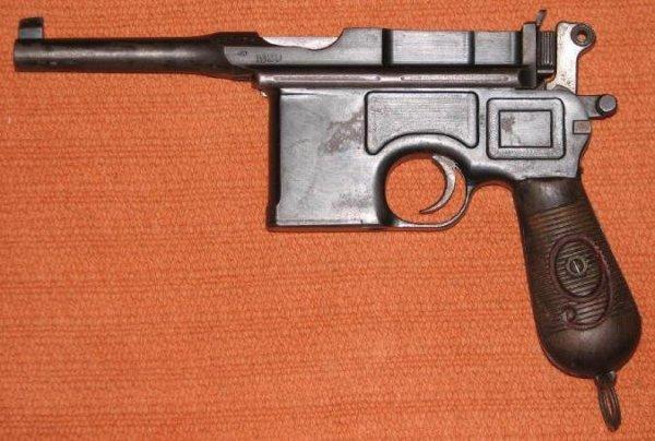 Пистолет Маузер К96 послевоенного периода, выпуска 1920 года, со стволом длинной 99 мм и клеймом «1920», переделанный из пистолета «Red Nine» Прусского заказа