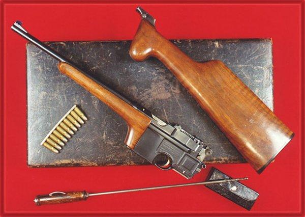 Пистолет-карабин Mauser выполненный на основе варианта «Cone Hammer»