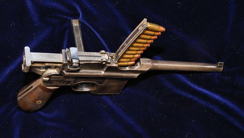 Пистолет Маузер К96