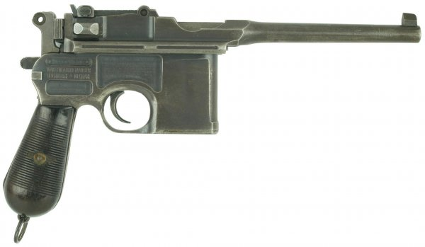 Пистолет Mauser «Model 1912» с предохранителем «Neue Sicherung»