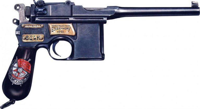 Почетное революционное оружие - наградной 'Маузер' С. Буденного