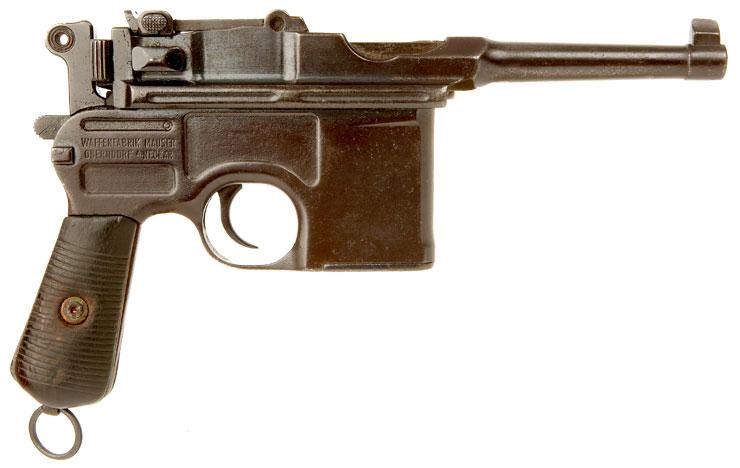 Пистолет Маузер К96 обр. 1920 г. («Боло» — «Большевик»)