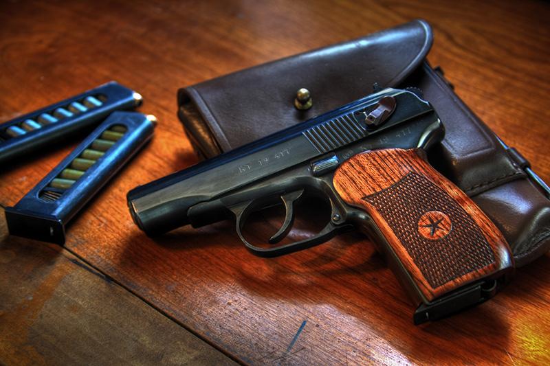 ПМ - пистолет Макарова калибр 9-мм