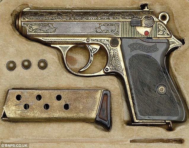 9-мм Вальтер ППК главы Люфтваффе Рейхсмаршала Германа Геринга