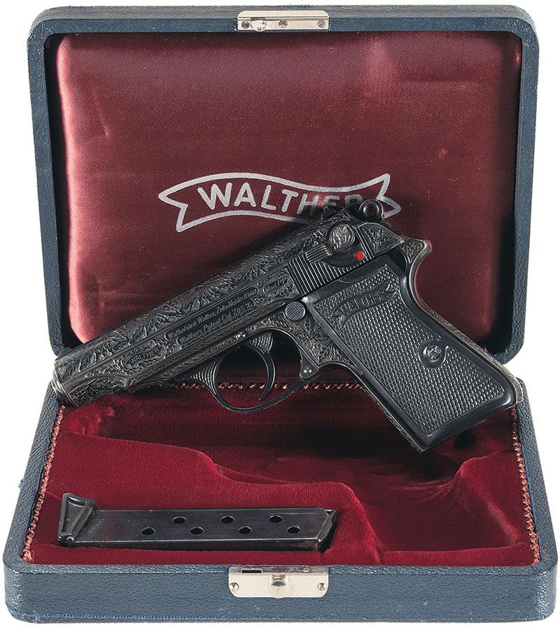 Пистолет Вальтер ПП