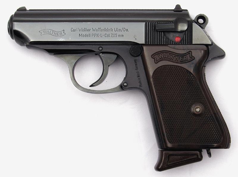 Пистолет Walther PPK-L