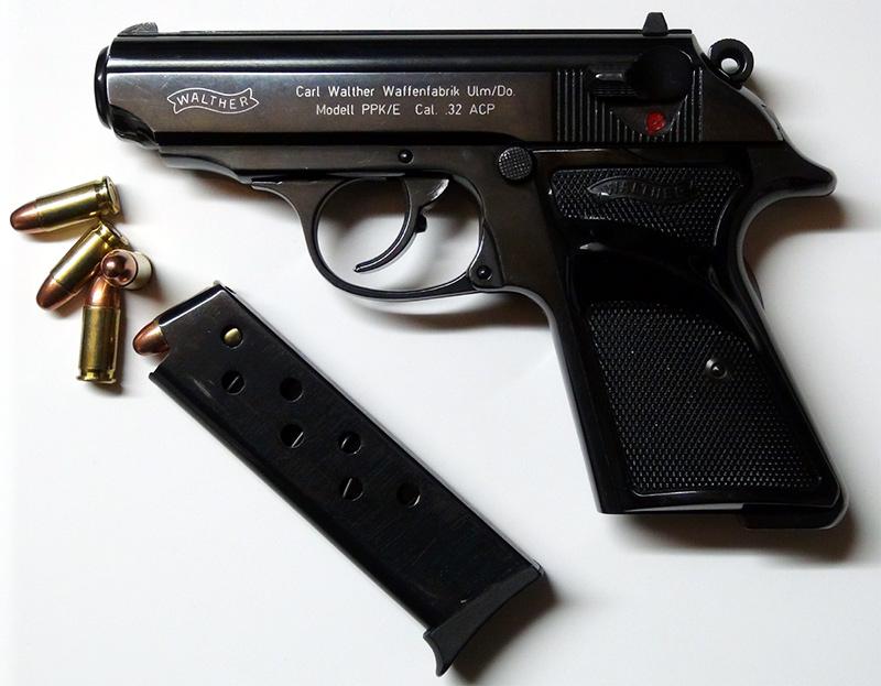 Пистолет Walther PPK/E