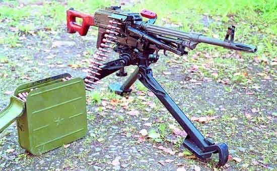 Пулемёт ПКС (ПК на станке 6Т2 Саможенкова)