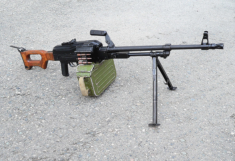 ПКМ - пулемет Калашникова