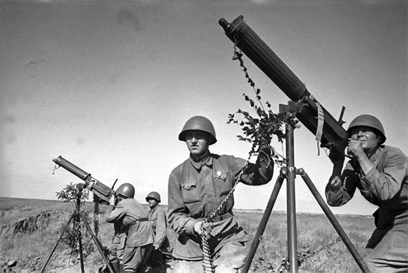 Максим - станковый пулемет