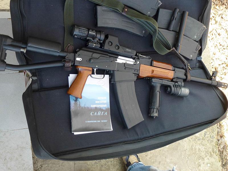 Сайга-12 - самозарядное ружье